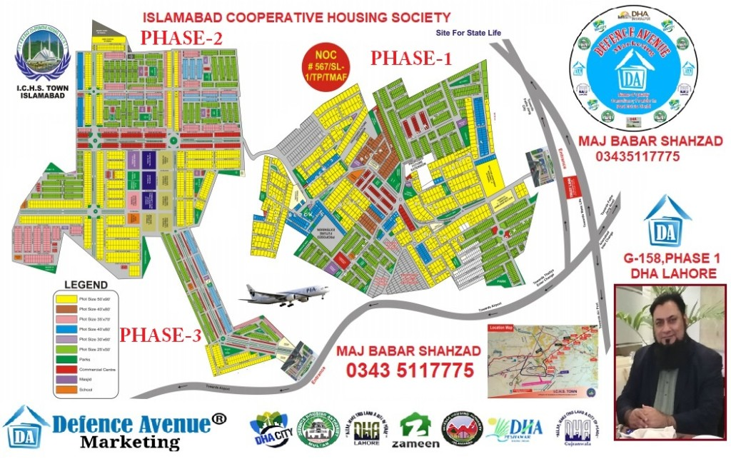 islamabad cooprtaive housing society (ichs)